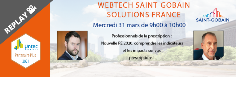 REPLAY WEBTECH SAINT-GOBAIN SOLUTIONS FRANCE
